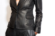 AS by DF | Leather Blazer