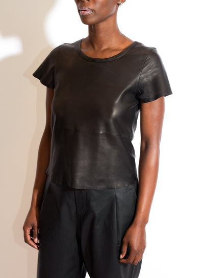 AS by DF | Leather Tee