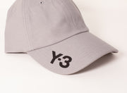 Y3 | Logo Baseball Hat in Grey