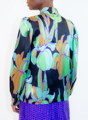 DRIES VAN NOTEN | Floral Silk Blouse