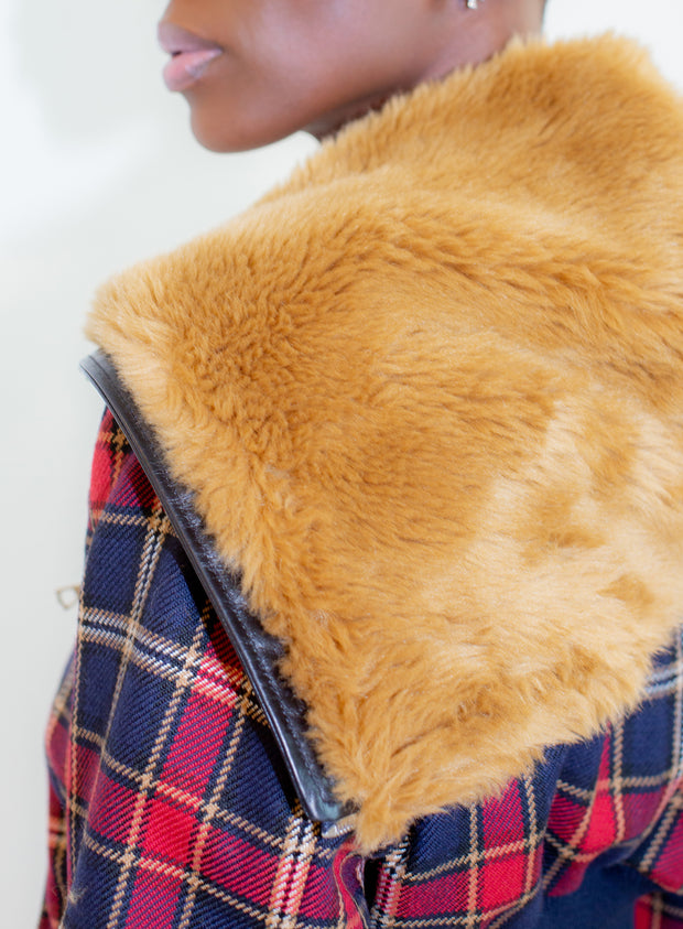 DRIES VAN NOTEN | Faux Fur Zip Up