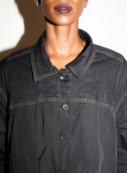 RUNDHOLZ| Black Button Jacket