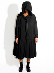 RUNDHOLZ | Oversized Hooded Coat