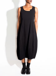 RUNDHOLZ | Sleeveless Dress in Black