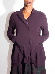 RUNDHOLZ | Short Jacket in Merlot