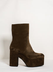 DRIES VAN NOTEN | Platform Suede Boot