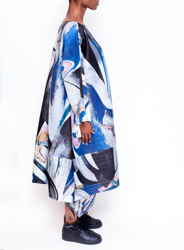 PLEATS PLEASE by ISSEY MIYAKE | Musa Print Dress