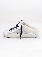 Golden Goose Deluxe Brand | Super-Star Shearling Slide Sneaker
