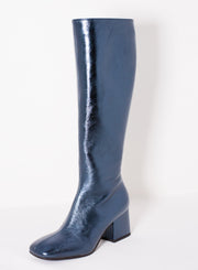 MARNI | Knee-High Patent Metallic Boot