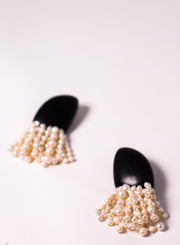 MONIES | Pearl and Kamagong Fringe Earring