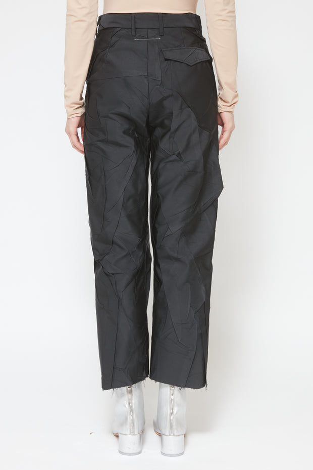 MM6 | Crushed Taffeta Pant
