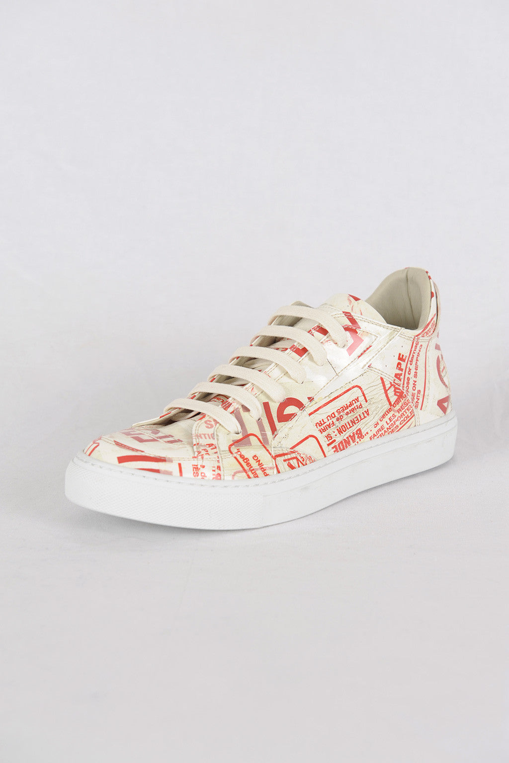 "MM6 by MAISON MARGIELA  | ""Fragile"" Print Pvc Sneakers"