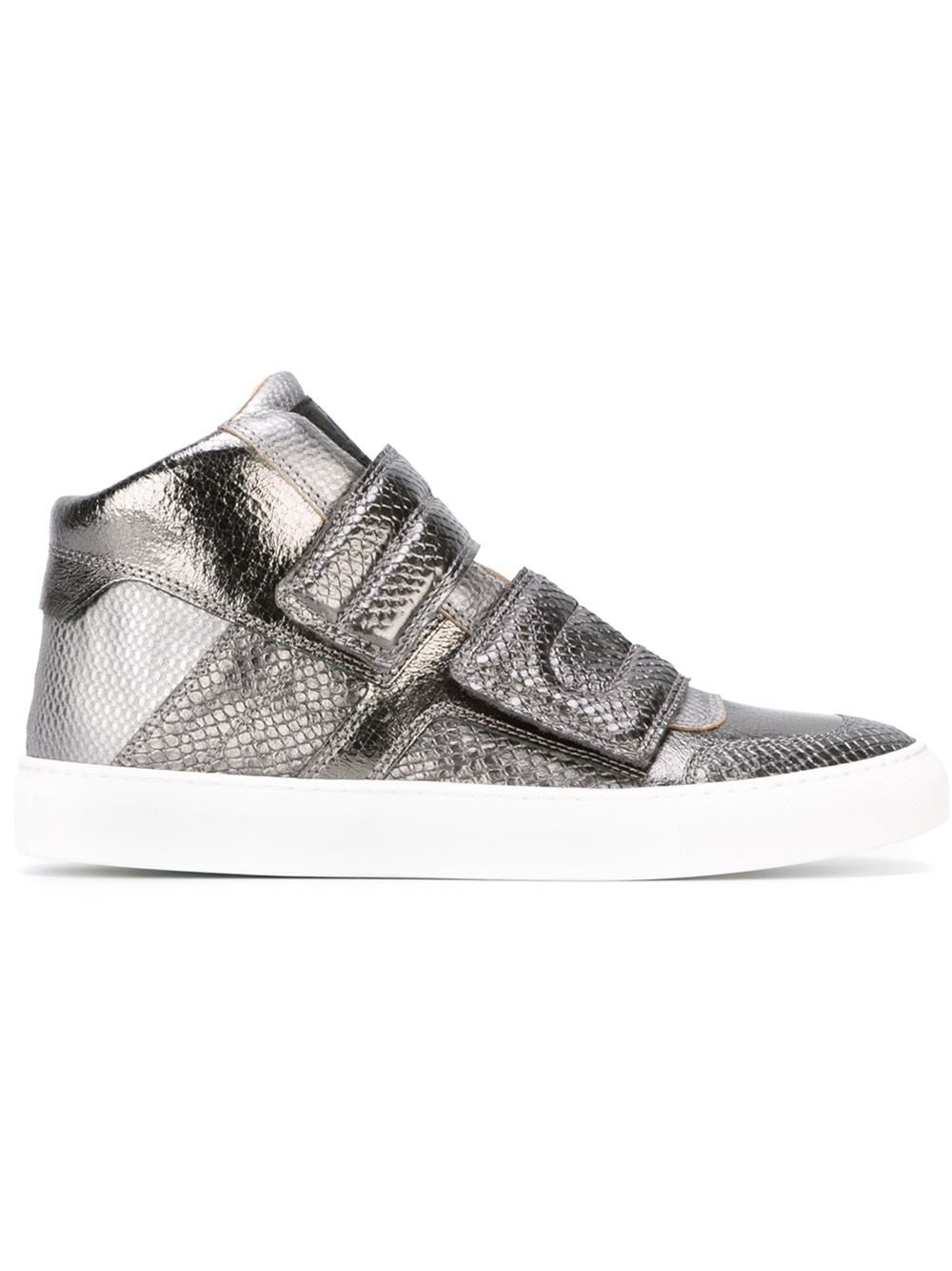 MM6 by Maison Martin Margiela | Velcro Hi-Top Sneakers