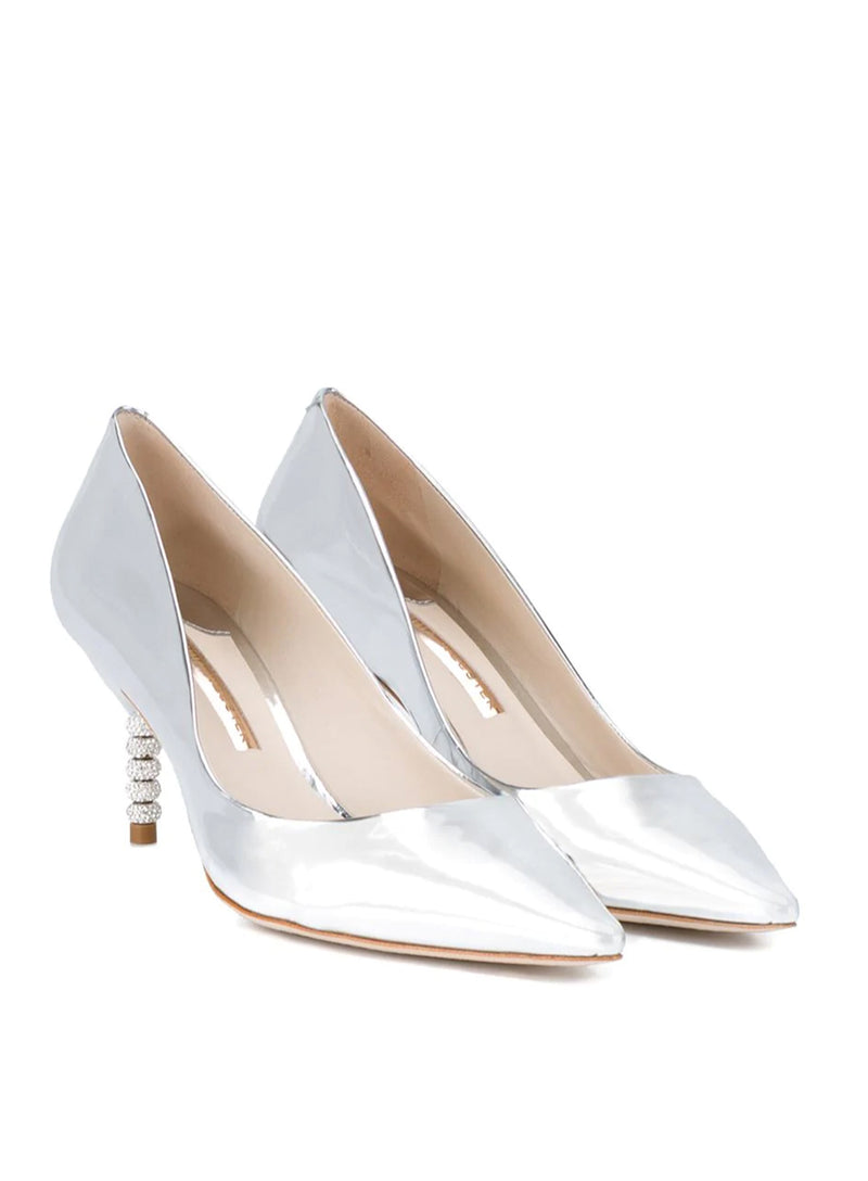 SOPHIA WEBSTER | Coco Crystal Mid-Heel Pumps