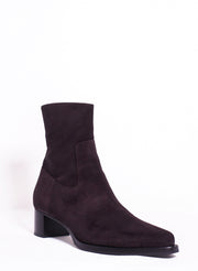 DRIES VAN NOTEN | Suede Boot in Purple