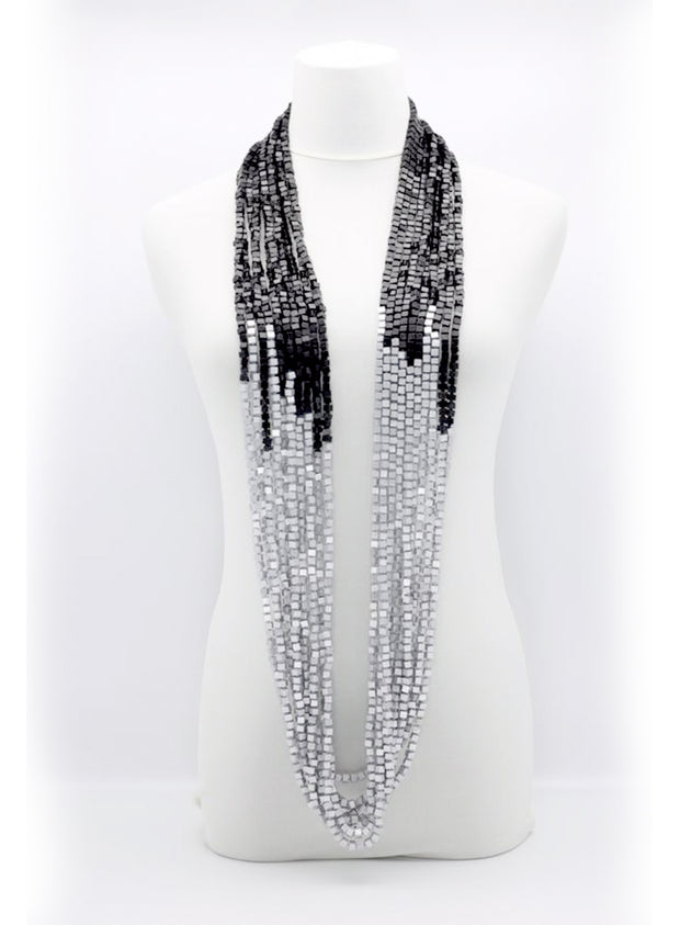 JIANHUI | 10-Strand Pashmina Necklace