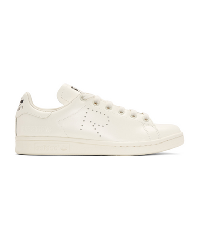 Raf Simons x Adidas | Adidas Originals Stan Smith Leather Sneakers (off-white)