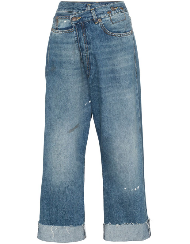 R13 | Crossover Asymmetric Jeans in Jasper