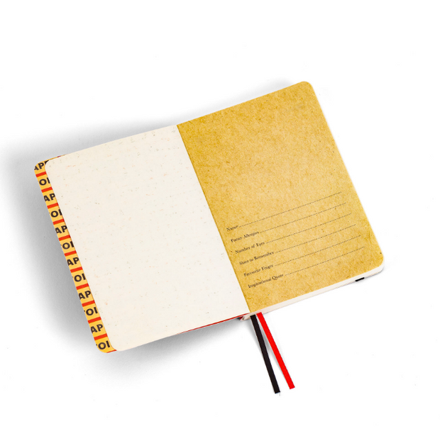 SELETTI | Small Notebook, Roses