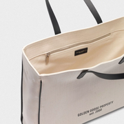 GOLDEN GOOSE | 'California' Canvas Tote Bag in Natural