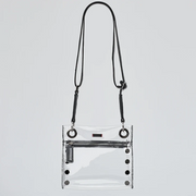 HAMMITT | Small Tony Bag in Clear Black/Gunmetal