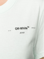 OFF-WHITE | Coral Arrows Short Sleeve T-Shirt in Light Blue