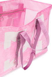 OFF-WHITE | Commercial Logo Shopper Tote Bag in Pink
