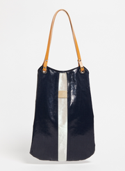 JACK GOMME | Flores Tote Bag in Deep/Black