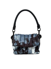 THINK ROYLN | Petit Bar Bag in Black Tie Dye