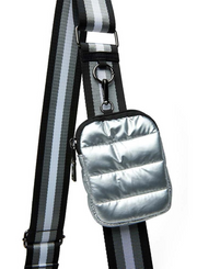 THINK ROYLN | Venture Bag in Pearl Silver