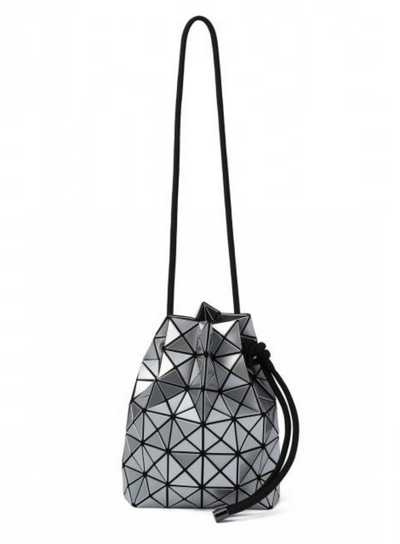 BAO BAO by ISSEY MIYAKE | Wring Prism Bucket Bag in Silver