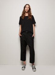 NILI LOTAN | Brady Tee in Washed Black
