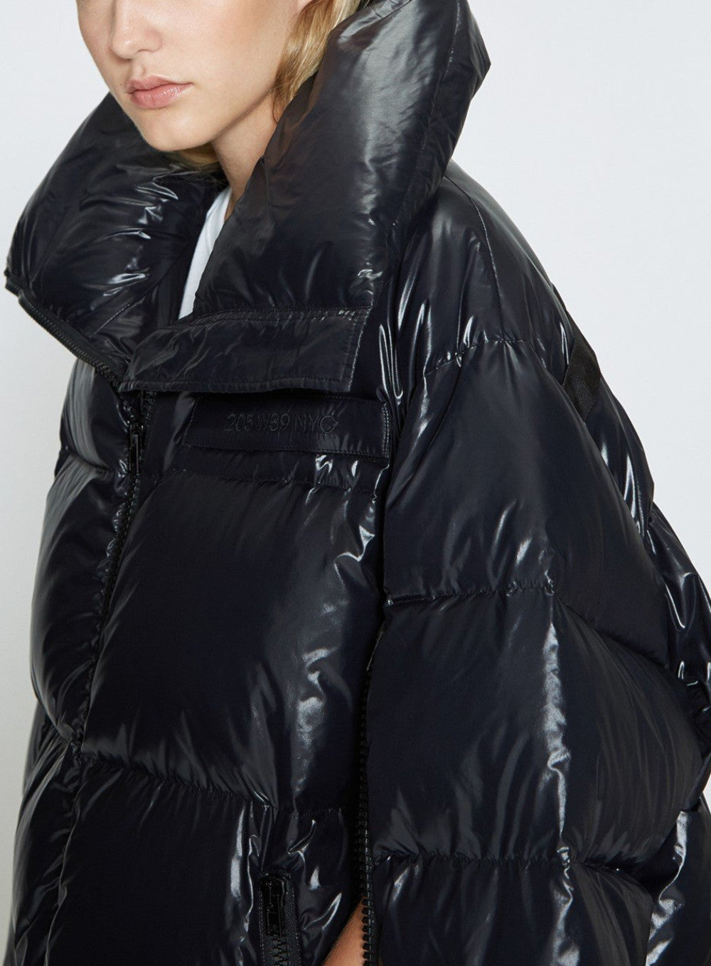 CALVIN KLEIN 205W39NYC | Oversized Down Fill Puffer Coat In Black