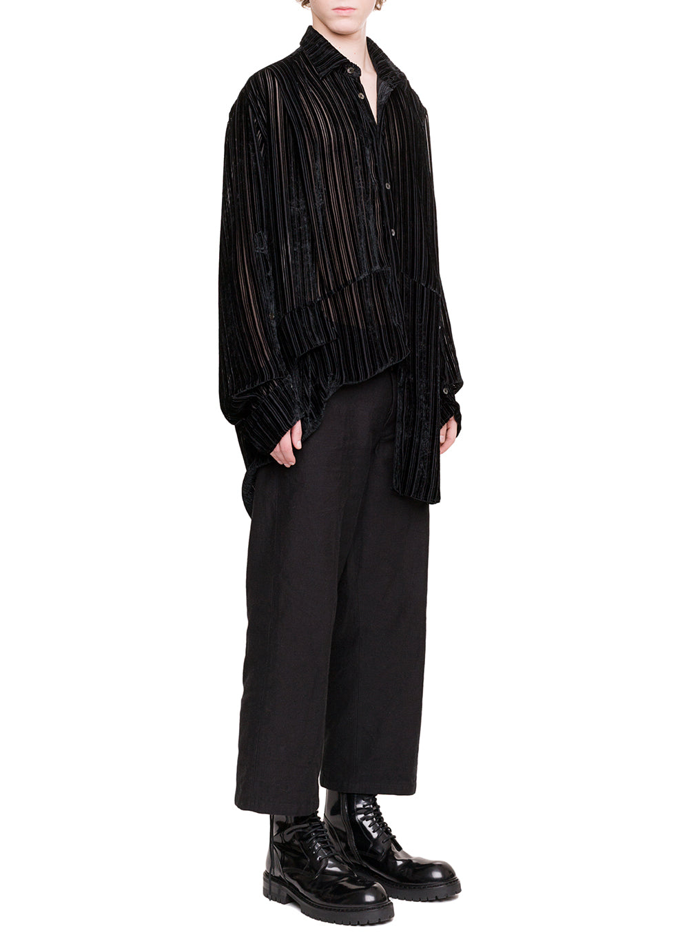 ANN DEMEULEMEESTER | Women's Harlot Shirt In Black