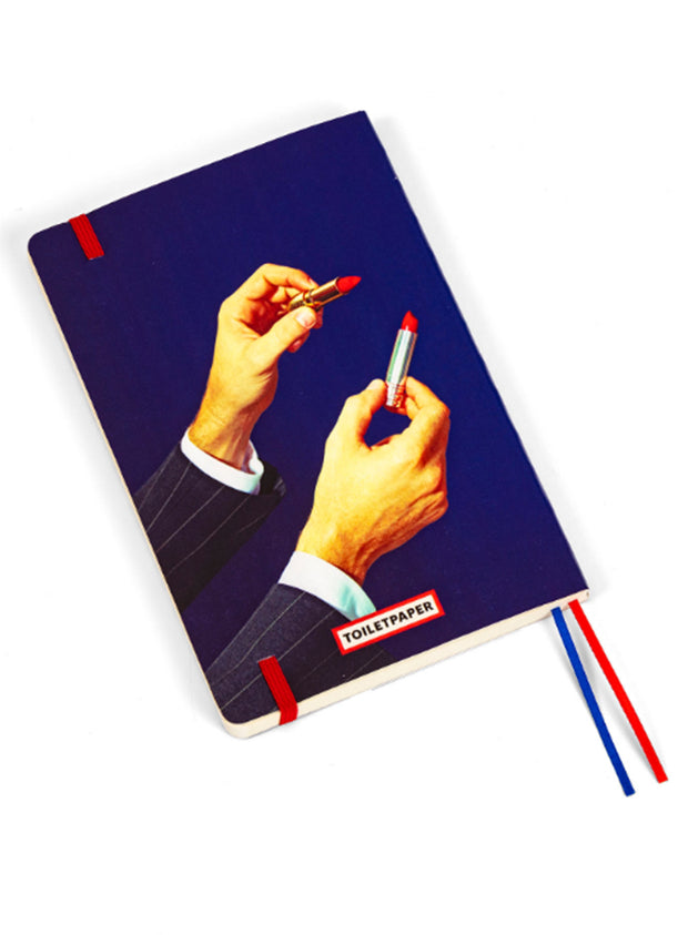 SELETTI | Big Notebook, Lipstick