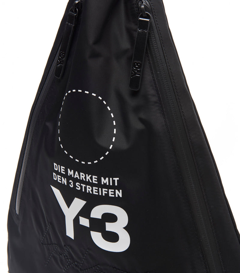 Y-3 | Yohji Messenger Bag in Black