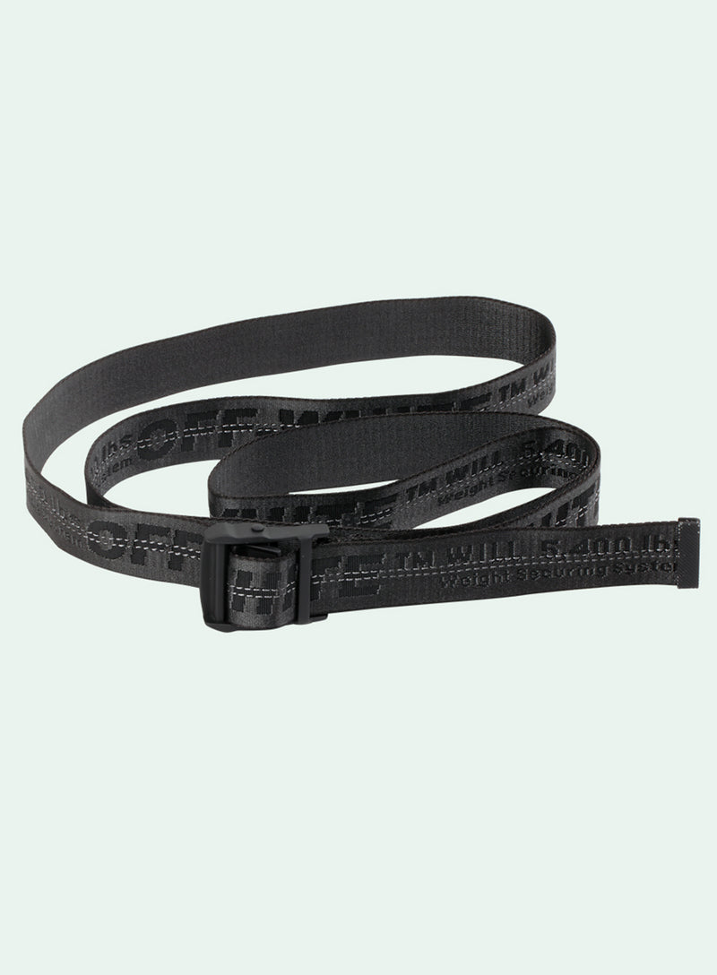 OFF-WHITE | Black Industrial Belt