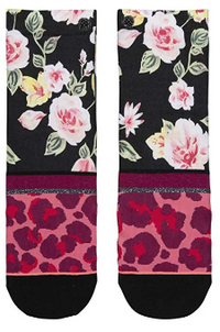 STANCE | 'Big Primpin' Floral and Animal Print Socks