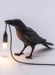 SELETTI | Bird Lamp #1, Waiting