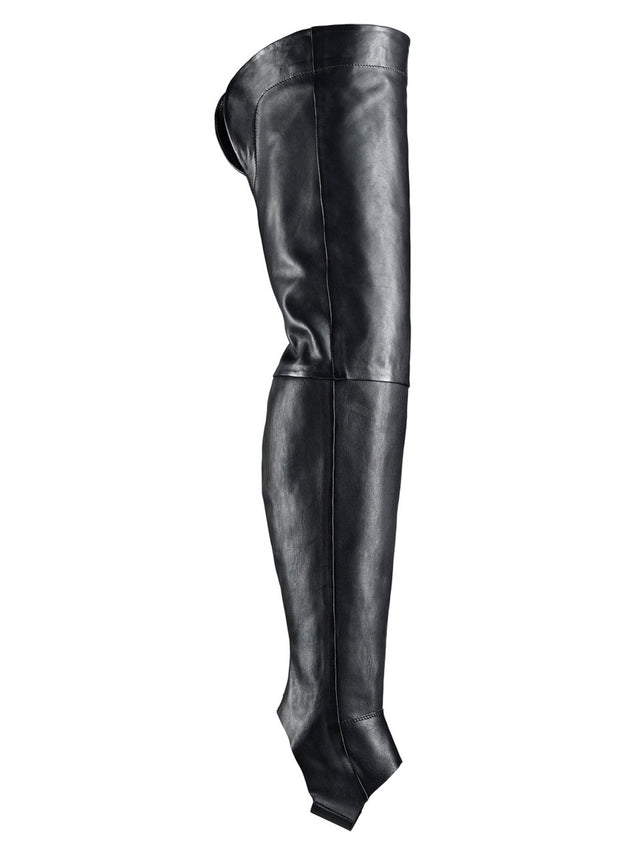 TRIPPEN | 'Studio Overknee' Leather Leg Warmer