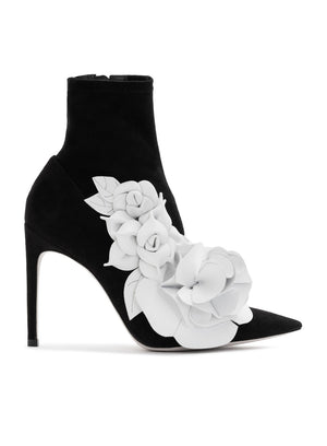 SOPHIA WEBSTER | Jumbo 'Lilico' Mid-Ankle Boots With Flower Detail