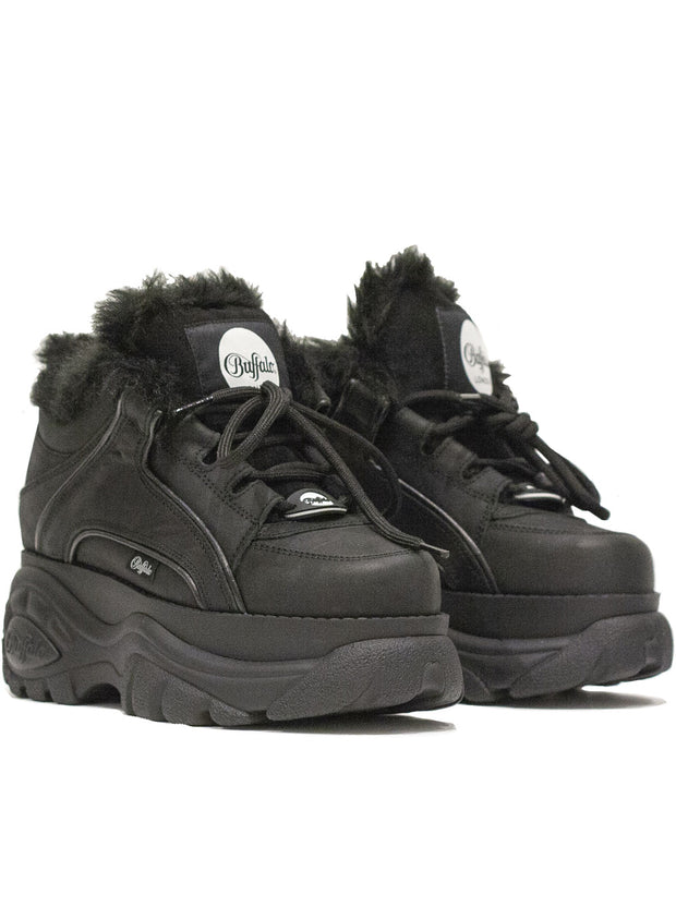 JUNYA WATANABE x BUFFALO LONDON | Shearling Platform Sneaker-Boot