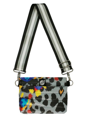THINK ROYLN | Bum Bag/Cross Body Bag in Urban Animal Multicolor Print