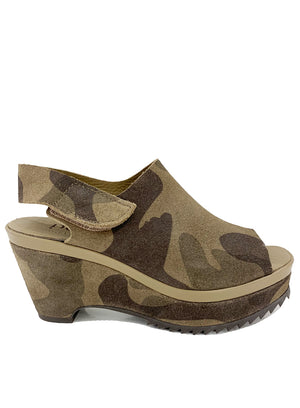PEDRO GARCIA | Platform Wedge In Camo