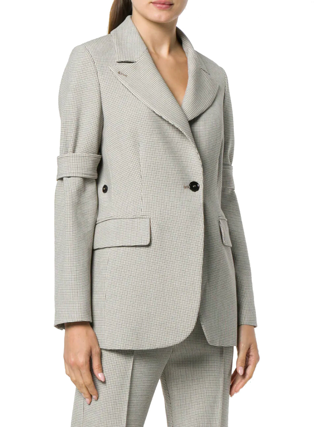 MM6 MAISON MARGIELA | Check Tailored Fitted Blazer
