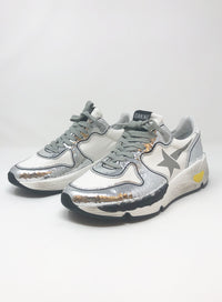 GOLDEN GOOSE | Running Mixed Media Sneakers