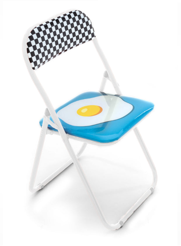 "SELETTI | ""Studio Job"" Egg Folding Chair"
