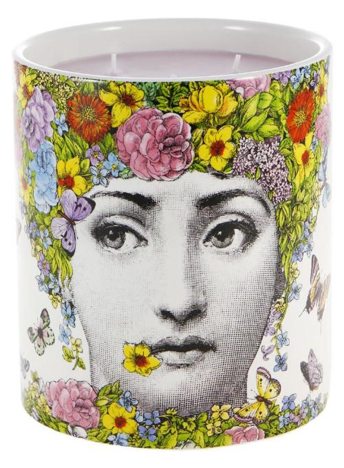 "Fornasetti | ""Flora"" Large Candle"