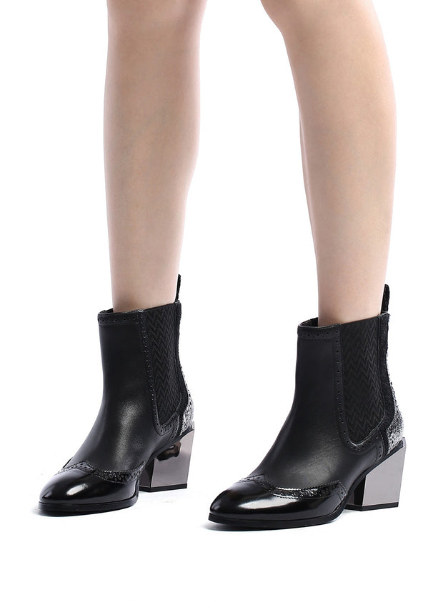 UNITED NUDE | Tetra Chelsea Boot in Black