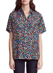 R13 | Tony Multi Star Button-Up Shirt